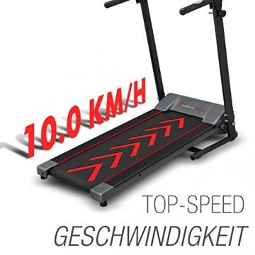 Laufband 10 km/h F10 Sportstech