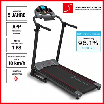Laufband F10 Sportstech mit App