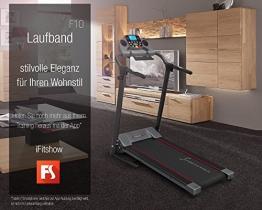 Laufband mit Pulsgurt F10 Sportstech