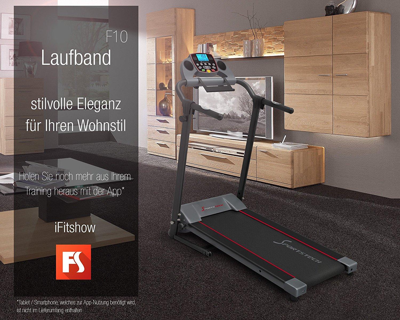 Laufband Benutzergewicht 120 kg Anfänger Sportstech