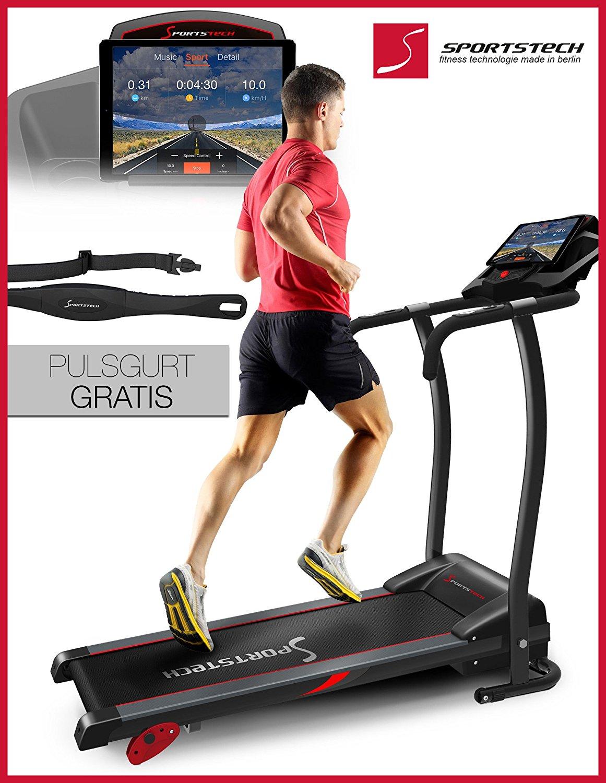 Laufband Benutzergewicht 120 kg Sportstech F15