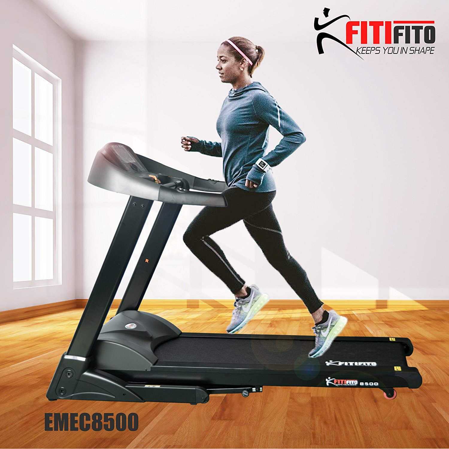 Laufband Test FitiFito 8500