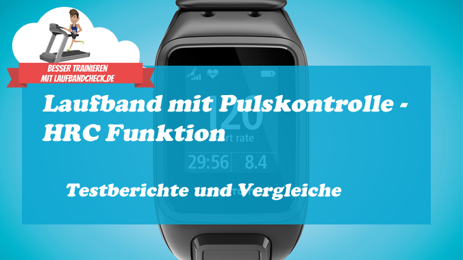 Laufband mit HRC Funktion