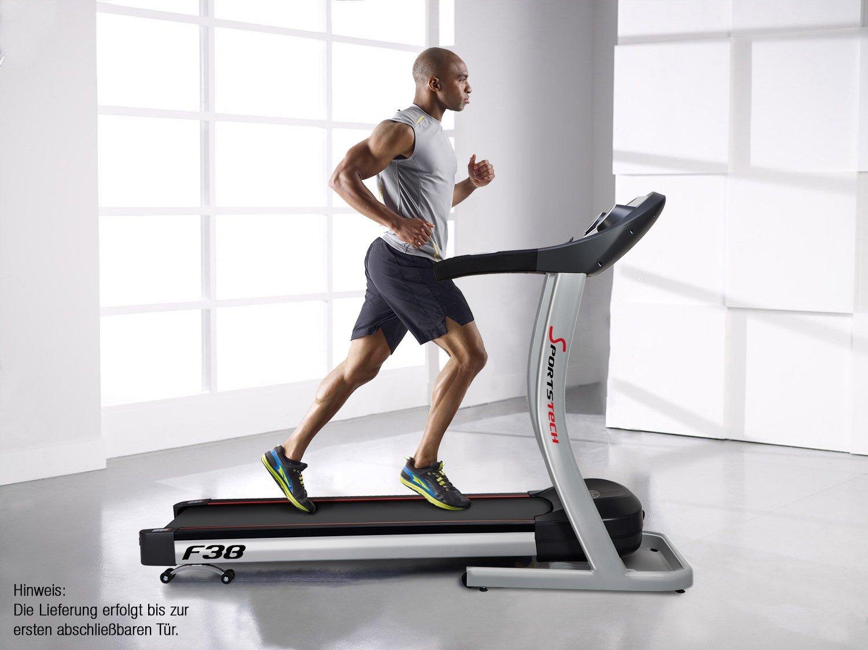Laufband mit Steigung 15 % stufenlos einstellbar Sportstech