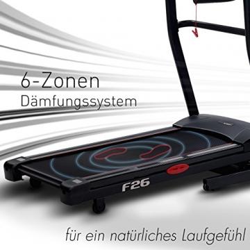 Laufband Dämpfung Sportstech F26