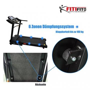 Laufband Fitifito 660B Dämpfung