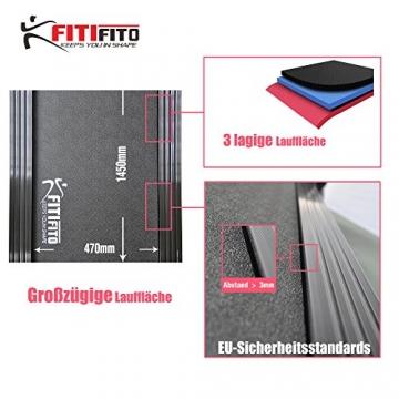 Laufband Fitifito 660B große Lauffläche