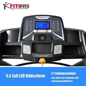 Laufband Fitifito 660B Trainingsmodule