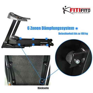 Laufband Fitifito 8500 bis 180 kg