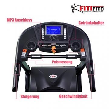 Laufband Fitifito 8500 Getränkehalter