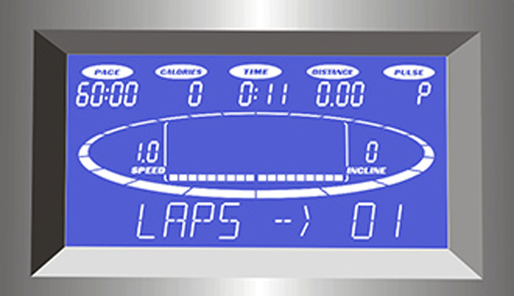 laufband-speedrunner-6000-Test-Anzeige
