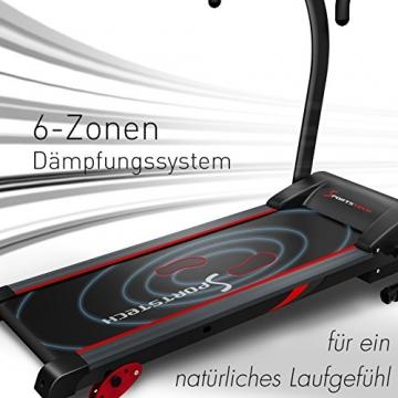 Laufband Sportstech F15 Dämpfung