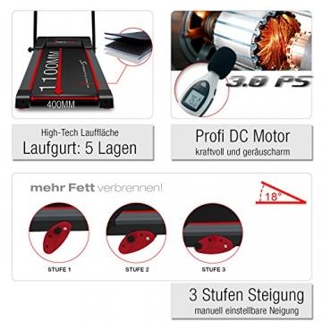 Laufband Sportstech F15 Neigung