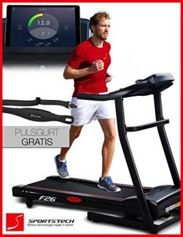 Laufband Sportstech F26