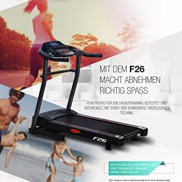 Laufband zum Abnehmen Sportstech F26